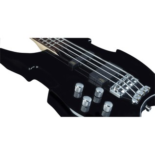 Warwick Rockbass Vampyre Dark Lord Left Handed 4-String, Black