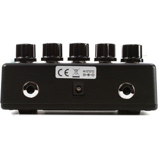 MXR 5150 EVH Overdrive Pedal - Rear View