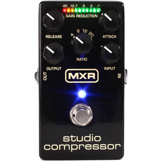 MXR M76 Studio Compressor Pedal - Top View