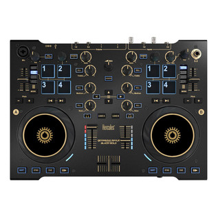 Hercules RMX2 Premium with Traktor 2, Black and Gold