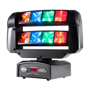 ADJ Crazy Pocket 8 Moving Head Lighting Effect