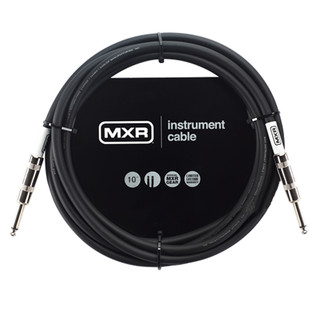 MXR Standard Instrument Cable, 10ft Straight