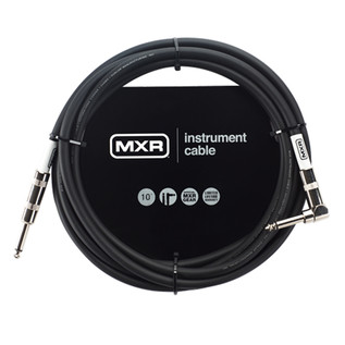 MXR Standard Instrument Cable, 10ft Right Angled