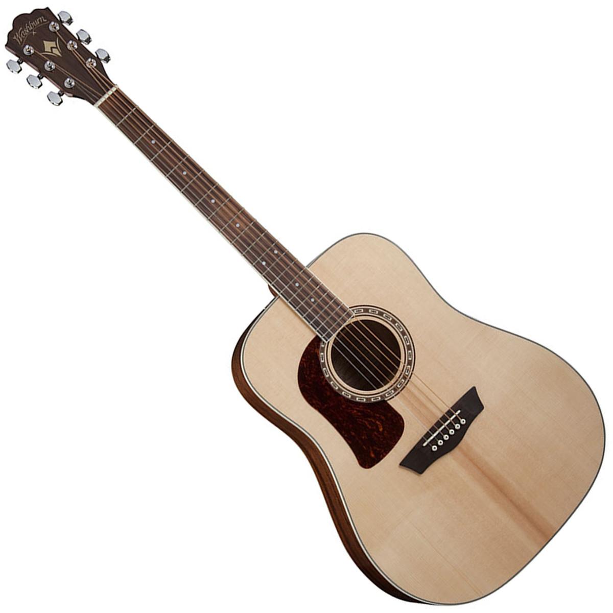 washburn hd10slh left handed dreadnought acoustic guitar at. Black Bedroom Furniture Sets. Home Design Ideas