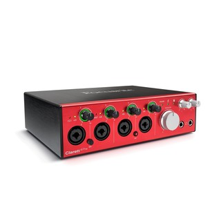 Focusrite Clarett 4 Pre Thunderbolt Audio Interface