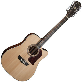 Washburn HD10SCE12 12 String Electro Acoustic Guitar, Natural