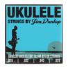 Dunlop Ukulele koncert Pro-4 String sæt
