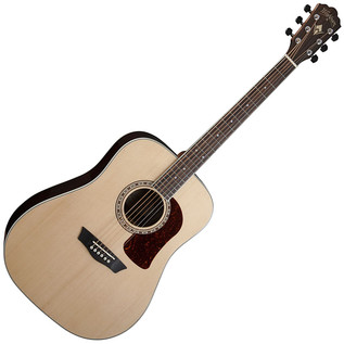 Washburn HD20S Dreadnought Acoustic Guitar, Natural