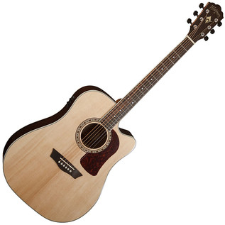 Washburn HD20SCE Electro Acoustic Guitar, Natural