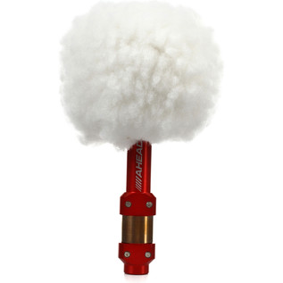 Ahead Switch Kick Vintage Bomber Kick, White Fleece Red Shaft Beater - Main View