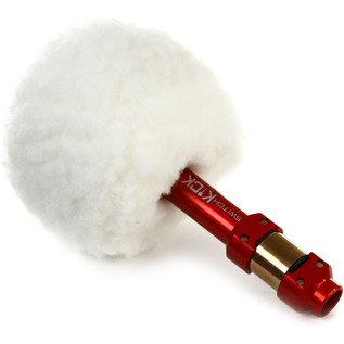 Ahead Switch Kick Vintage Bomber Kick, White Fleece Red Shaft Beater - View 3