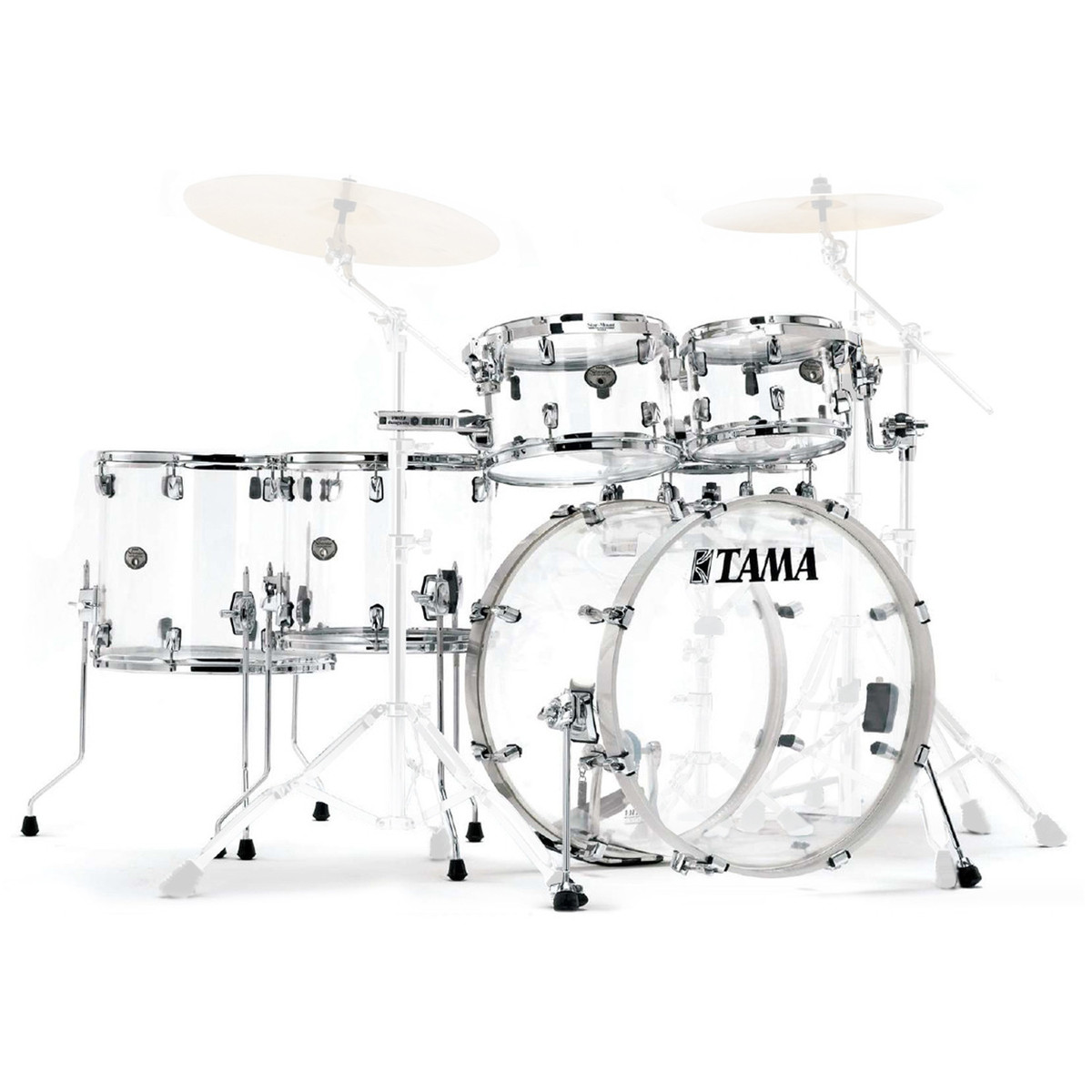Tama Silverstar Mirage : tama silverstar mirage crystal ice ltd edition 6pc acrylic shell pack at ~ Russianpoet.info Haus und Dekorationen