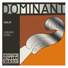 Thomastik Dominant violon 3/4 E String, acier au Chrome (boule)