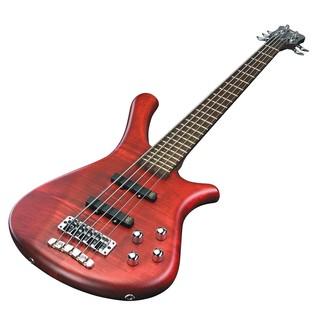 Warwick Rockbass Fortress 5-String Bass, Burgundy Red