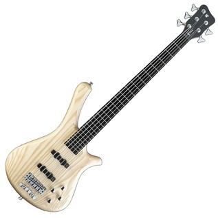 Warwick RockBass Fortress 5 String Bass Guitar, Natural Satin