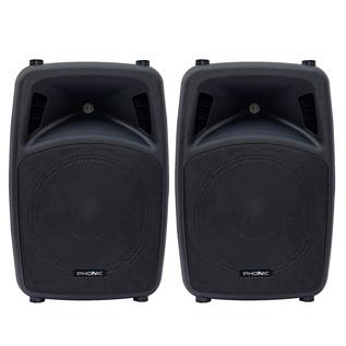 Phonic Jubi 12A 2-Way Active Loudspeaker, Pair