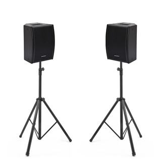 Phonic iSK 10A Deluxe Active Loudspeakers and Stands