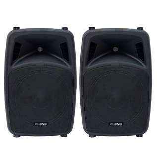 Phonic Jubi 15A 2-Way Active Loudspeaker, Pair