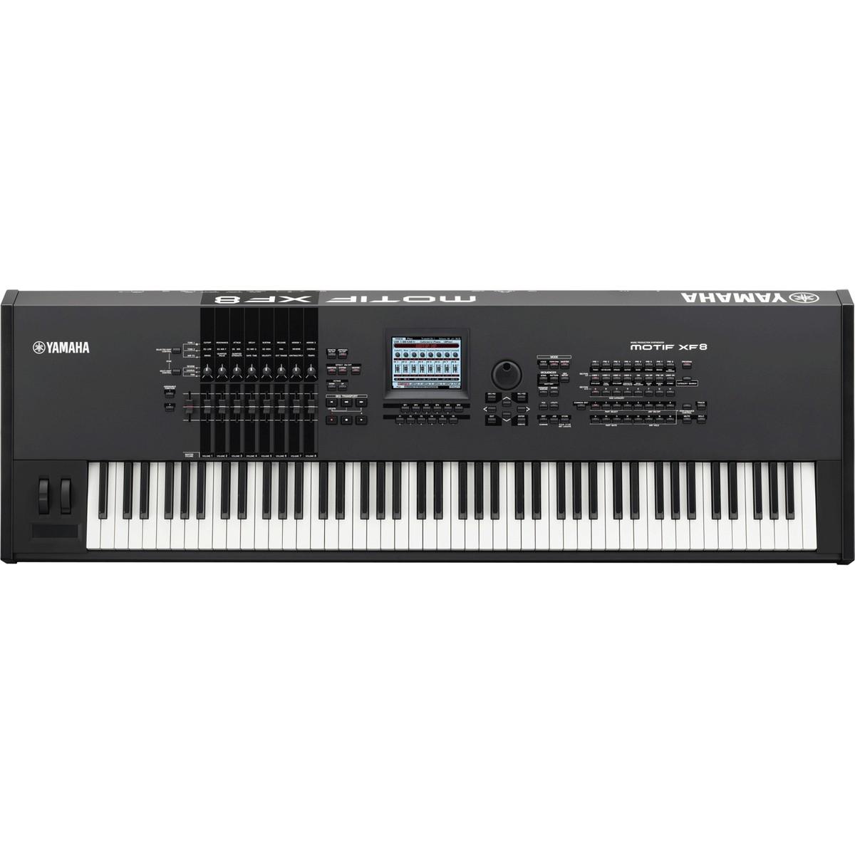 yamaha motif xf8 keyboard workstation nearly new at