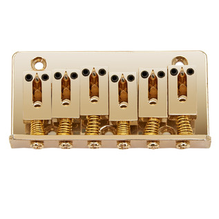 Hardtail Guitar Bridge, Gold