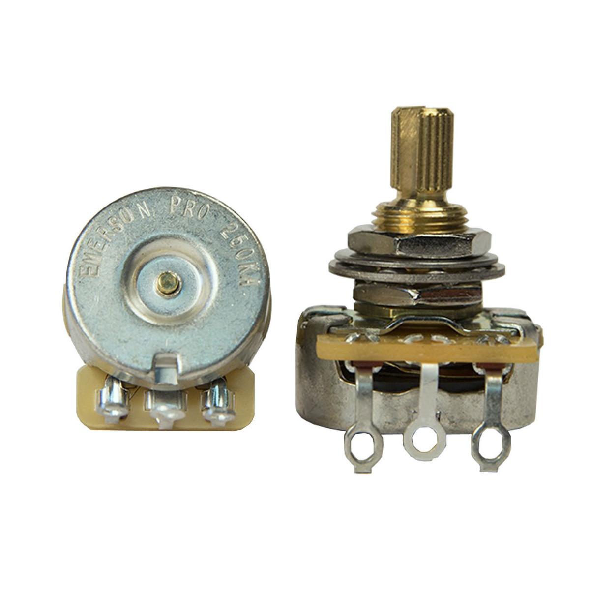 Image of Emerson Custom CTS 250K Short Split Shaft Pro Potentiometer