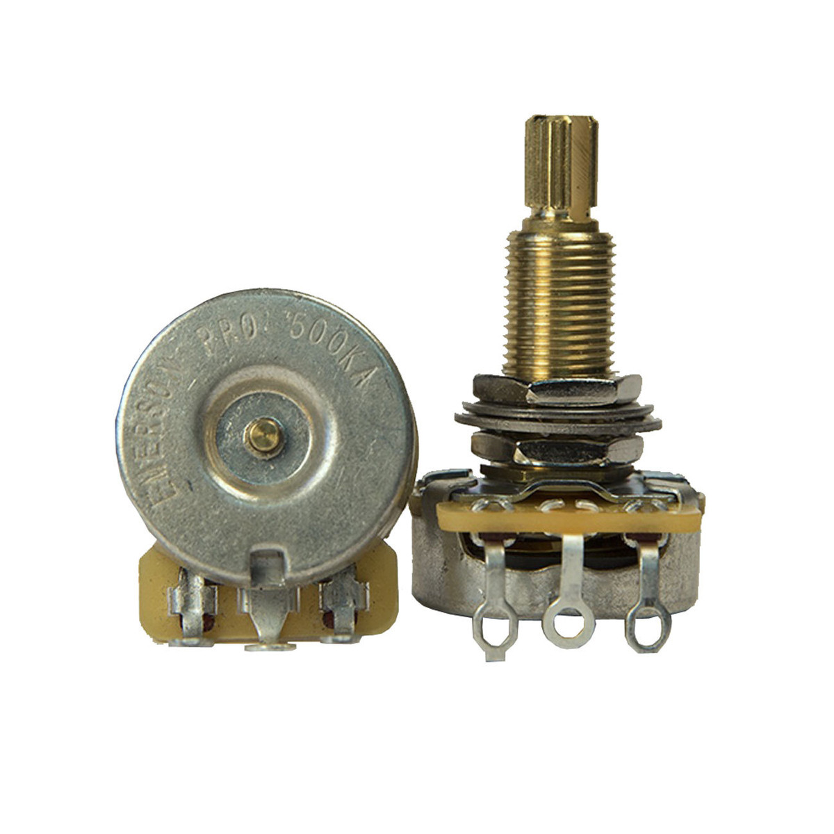 Image of Emerson Custom CTS 500K Long Split Shaft Pro Potentiometer