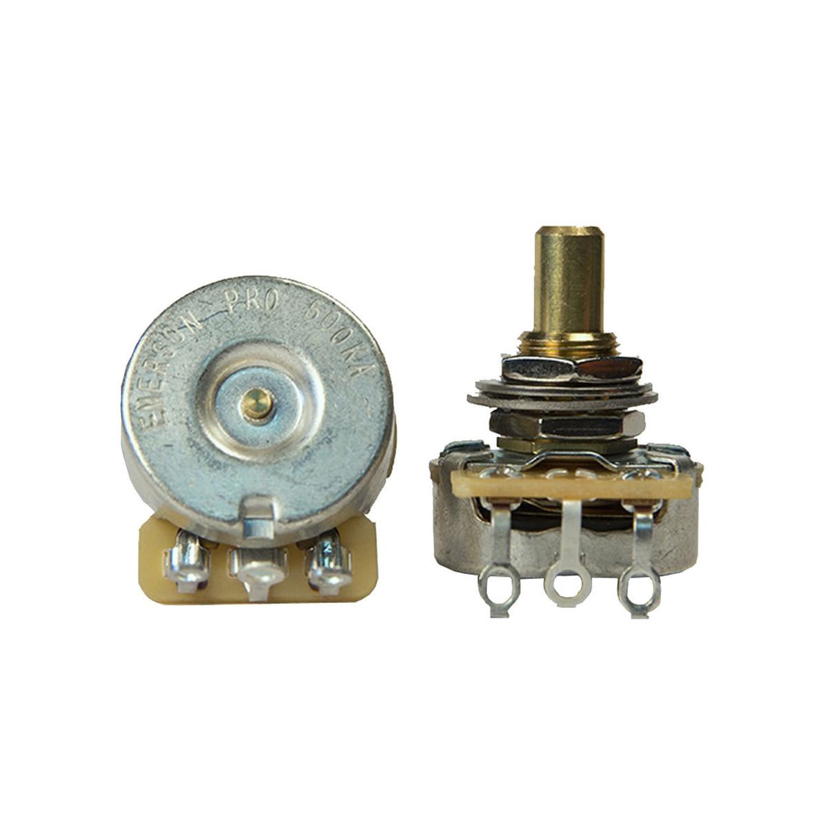 Image of Emerson Custom CTS 500K Short Solid Shaft Pro Potentiometer
