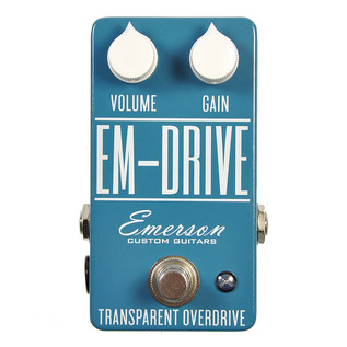Emerson Custom EM-Drive Transparent Overdrive Guitar Pedal