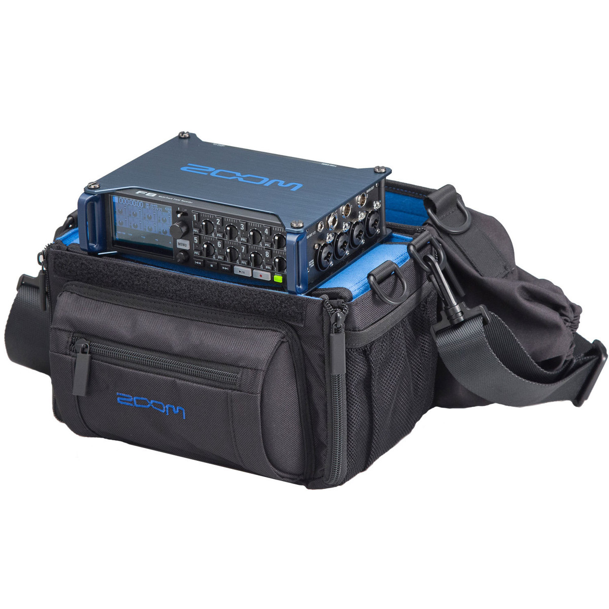 Image of Zoom F8 MultiTrack Field Recorder with Protective Case