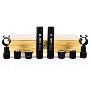 Oktava MK-012-01 MSP2 Condenser Microphones, Black Matched Pair
