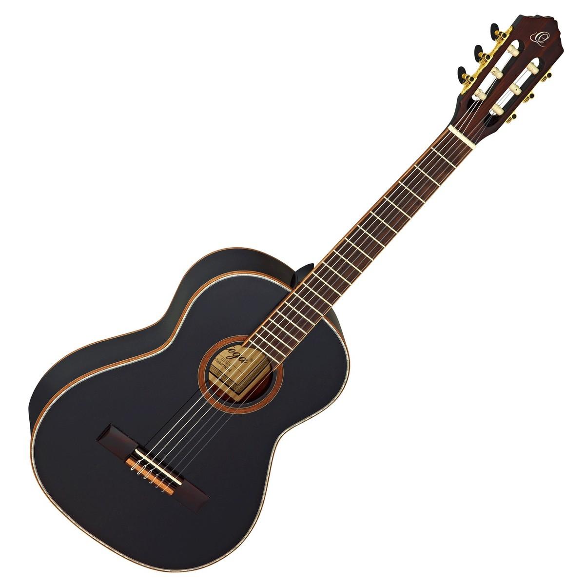 guitare classique de ortega r221bk 3 4 noir. Black Bedroom Furniture Sets. Home Design Ideas
