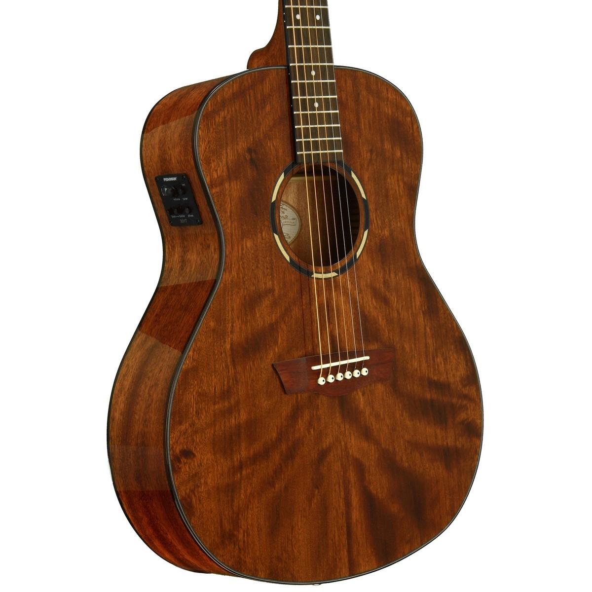 washburn wlo12se electric acoustic orchestra guitar mahogany at. Black Bedroom Furniture Sets. Home Design Ideas