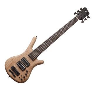 Warwick Corvette $$ 6-String Bass Guitar, Natural Oil Finish