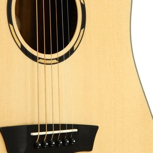 Washburn WLD20S Acoustic Guitar, Natural