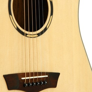 Washburn WLD20SCE Electro Acoustic Guitar, Natural