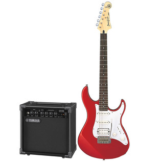 Yamaha Pacifica 012 Electric Guitar Pack, Red