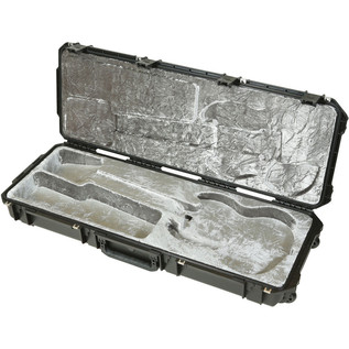 iSeries Injection Moulded SG Type Flight Case w/wheels - Angled 2