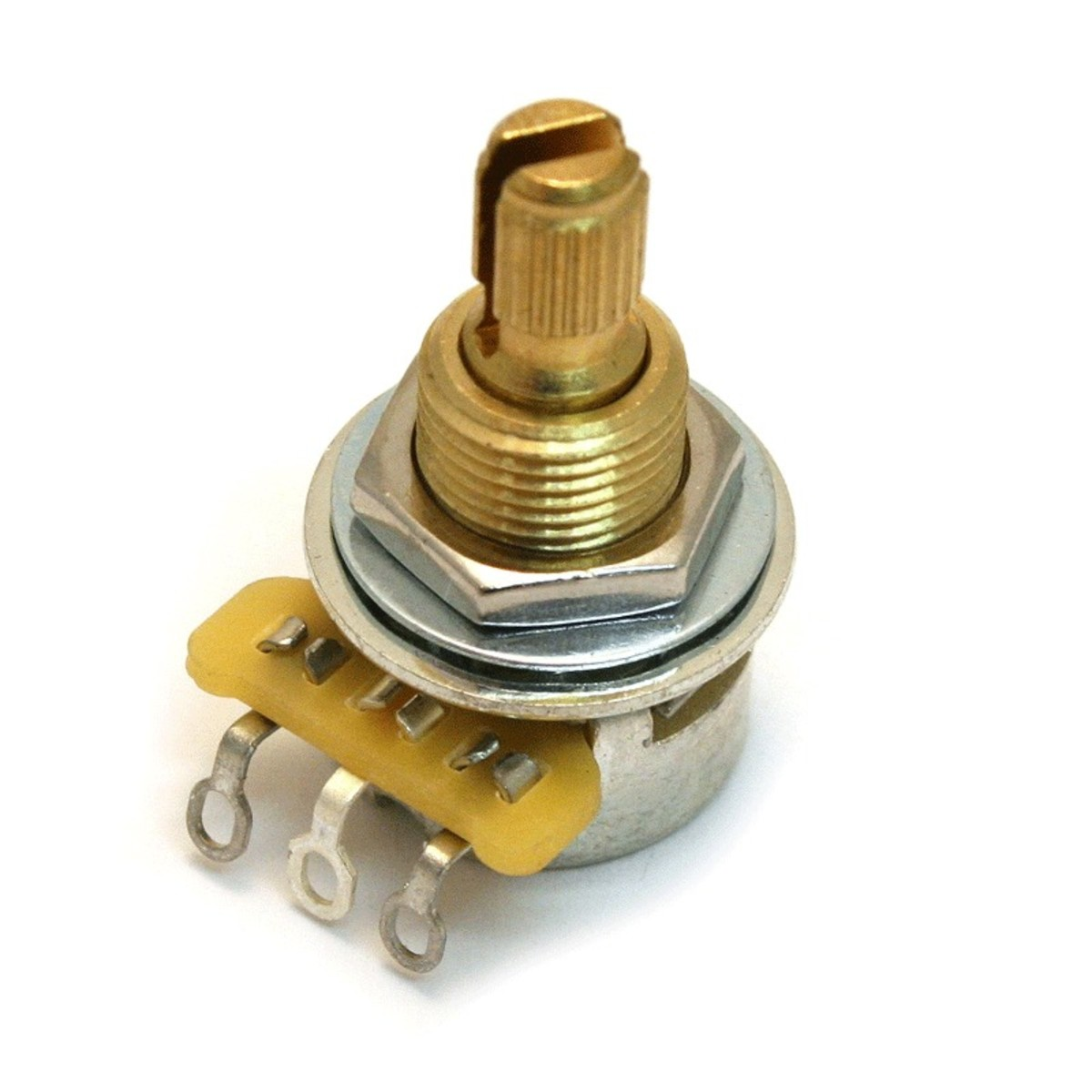 Image of CTS EP-5485-000 250K Mini Log. Split Shaft Potentiometer