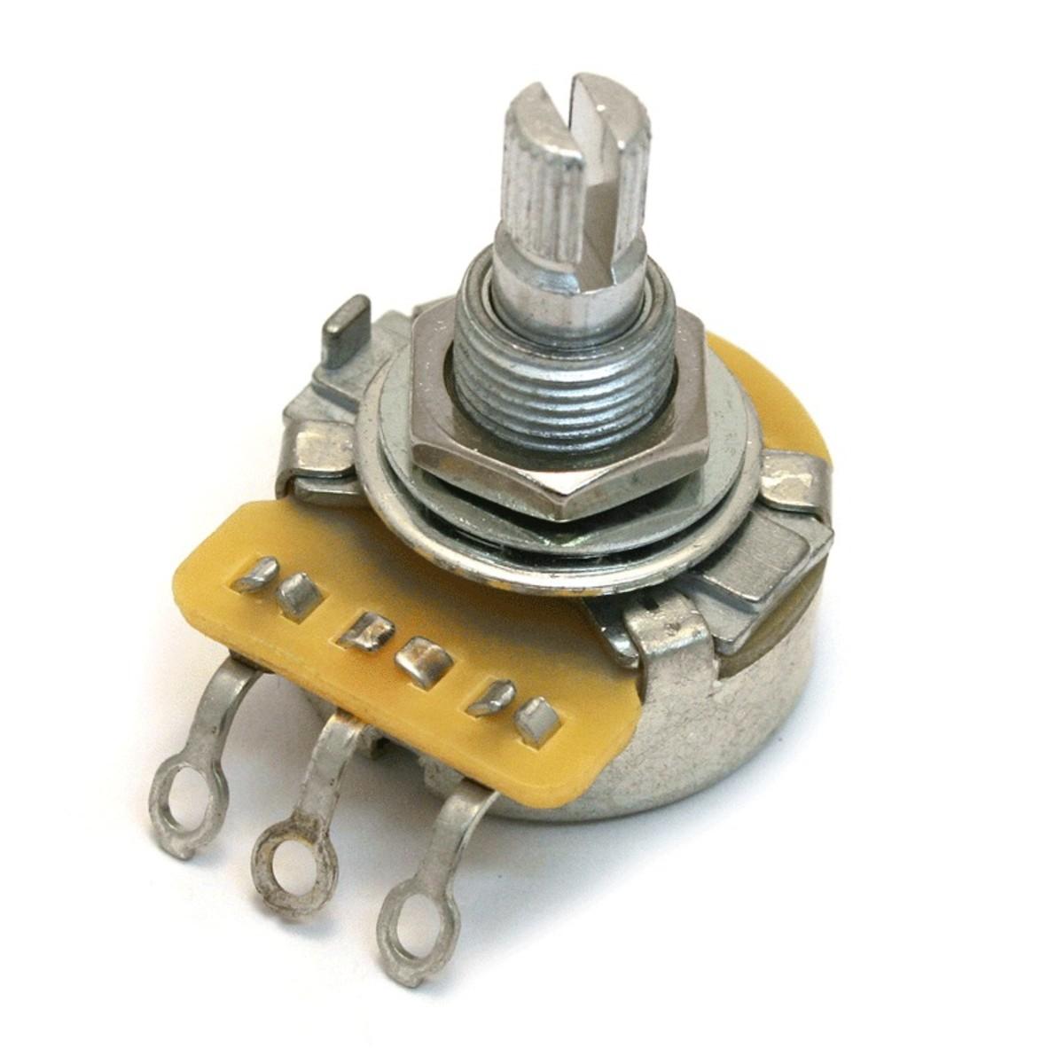 Image of CTS EP-0086-000 500K Log. Split Shaft Potentiometer