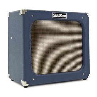 Silvertone 1423 Electric Guitar + SubZero Tube-20R Pack, Blackgold