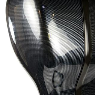 BAM 1004XL Hightech Compact Cello Case, Black Carbon