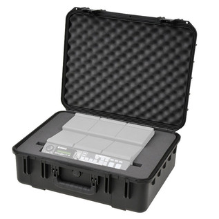 iSeries Injection Moulded Waterproof Case for Yamaha MultiPad 12 - Angled 2