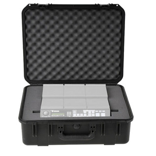 iSeries Injection Moulded Waterproof Case for Yamaha MultiPad 12 - Front View
