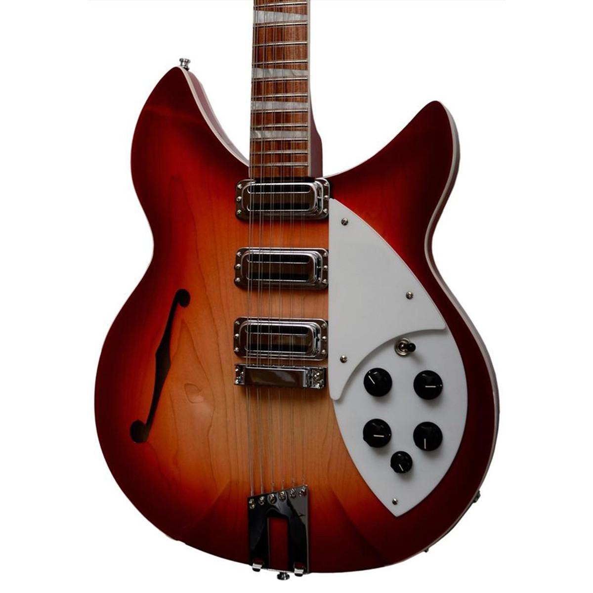 rickenbacker 1993 plus 12 string electric guitar fireglo at. Black Bedroom Furniture Sets. Home Design Ideas