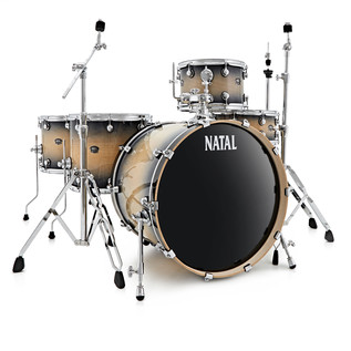 Natal Arcadia 5 Piece TRC Drum Kit With Hardware Pack, Midnight Burst