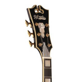 D'Angelico EX59 Hollow Body Electric Guitar, Black