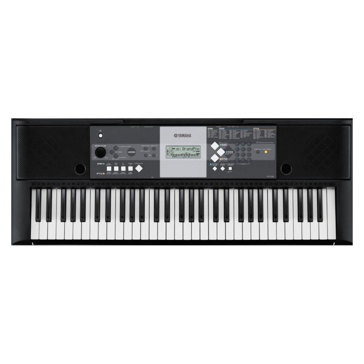 yamaha ypt 230 61 key portable keyboard nearly new at