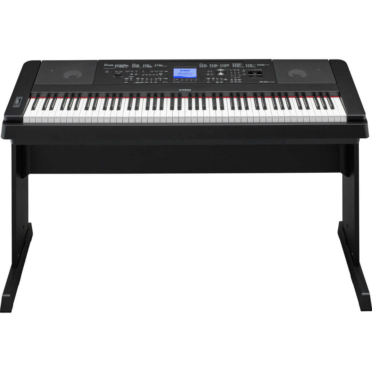 yamaha dgx660 digital piano with stand black at. Black Bedroom Furniture Sets. Home Design Ideas