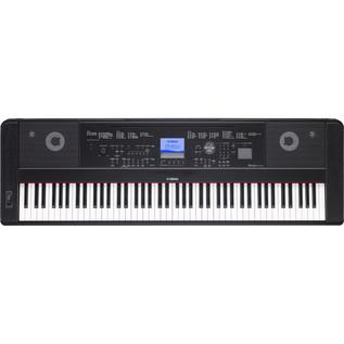Yamaha DGX660 Digital Piano with Stand, Black