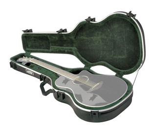 SKB Thin-line AE/Classic Hardshell Guitar Case - Angled 2
